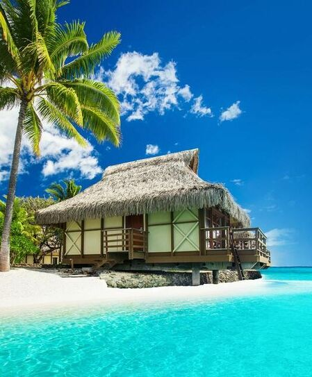 Private villa in the south pacific
